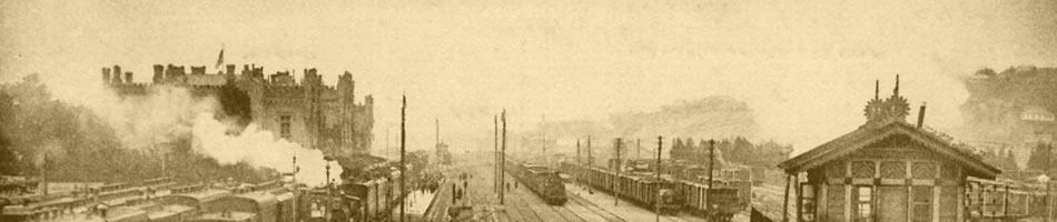The Railway Station at the beginning of the 20th  century. Kiev